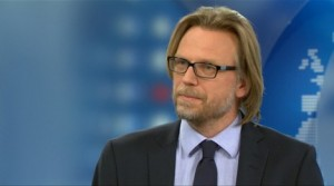 Kyrre Nakkim i NRK-studio