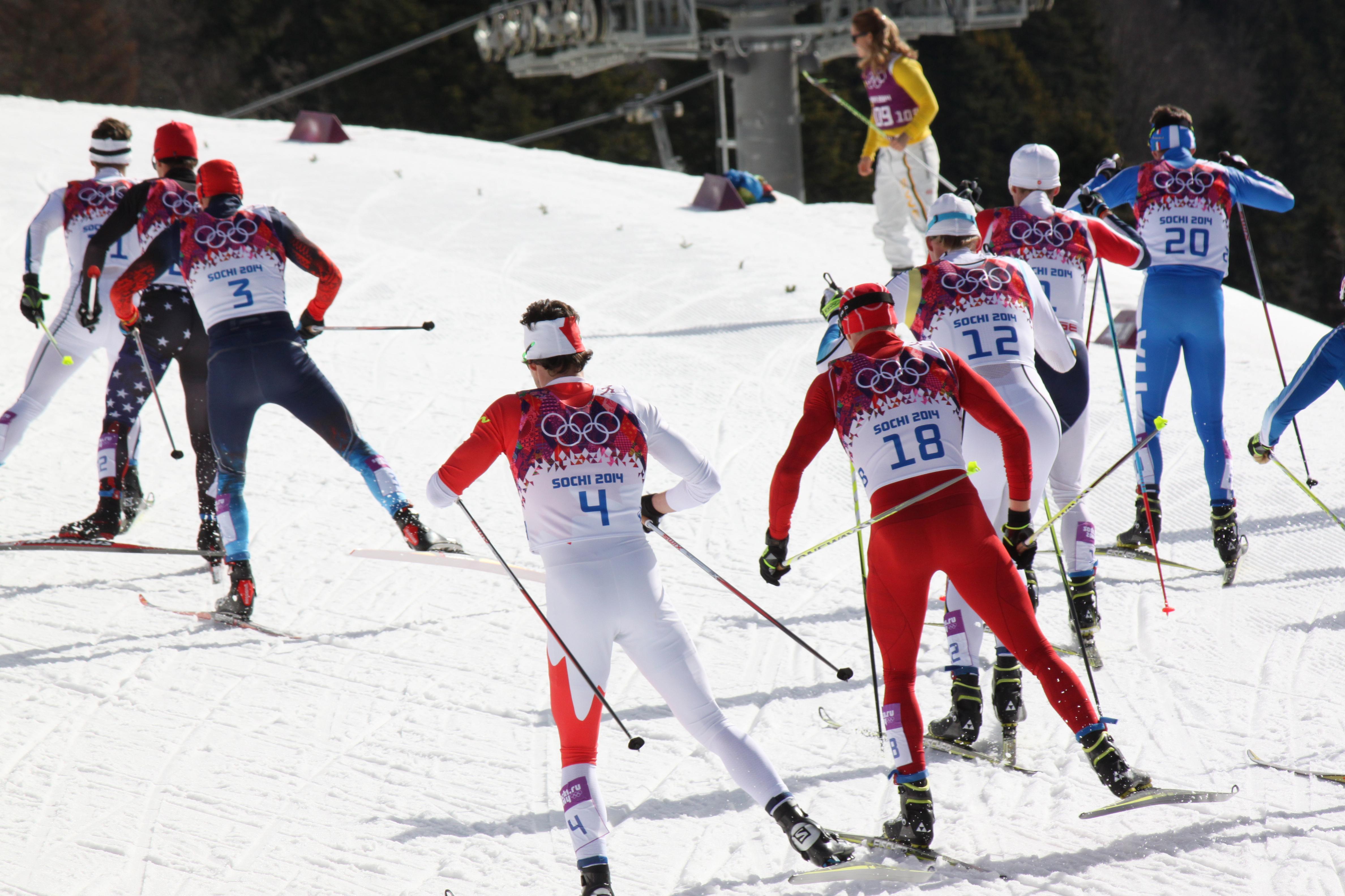 Skiløpere i Sochi-OL 2014