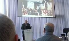 Frans Arne Stylegar i Elvesalen i Buen